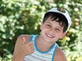 Boy'S Summer Smile