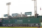 Boston - May 30: The Green Monster At Fenway Park, Home Of The Boston Red Sox May 30, 2011 In Boston