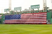 Boston - May 30: Memorial Day Festivities Before The Red Sox Game Against The Chicago White Sox At F