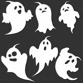 Ghost, The Ghost Icon, Apparition, Shadow, Darkness, Halloween poster