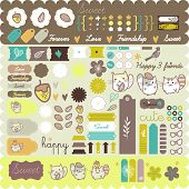 cute hamster sticker set- must have - happy scrapbooking project