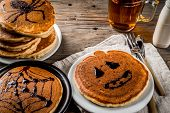 Halloween Pancakes For Children poster