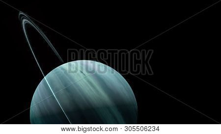 poster of Planets And Galaxy, Science Fiction Wallpaper. Beauty Of Deep Space. Billions Of Galaxy In The Unive