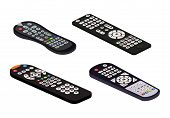 Remote Control Tv Vector Remoted Controller Television Channel Technology Media Entertainment Equipm poster