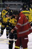 verletzt Eishockeyspieler
