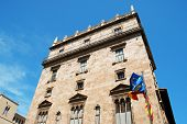 Palace Of The Generalitat Valenciana