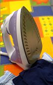 Upright Domestic Washing Steam Iron poster