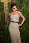 LOS ANGELES - FEB 26:  Victoria Beckham arrives at the 2012 Vanity Fair Oscar Party  at the Sunset T