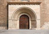 Entrance to the historic Cathedral
