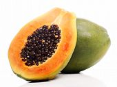 pic of groping  - Fresh  and tasty papaya - JPG