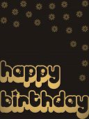 pic of happy birthday  - happy birthday greeting card  - JPG