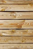 Abstract Wooden Background. Cropped Shot Of Wooden Fence. Wooden Texture. Background With A Lot Of C poster
