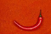guindilla caliente rojo fresco