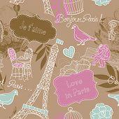 爱在巴黎。无缝模式