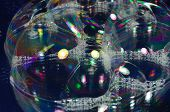 stock photo of nouns  - Soap bubbles on the surface of the transparent - JPG