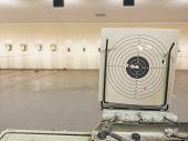Air Gun Shooting Range, Practice Shooting Range Target poster