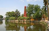 stock photo of trans  - Tran Quoc Pagoda - JPG