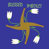 Imbolc Greeting Card
