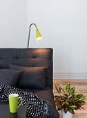 image of futon  - Living room detail - JPG