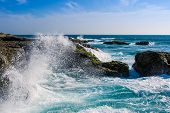 Crashing Waves at Chocolatera