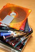 Colourful Mini-disc