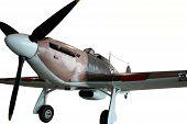 Vintage Spitfire Fighter Plane