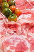 Italian Prosciutto, Pancetta And Green Tomato
