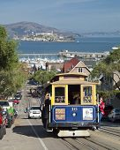 San Francisco - November 2012: The Cable Car Tram