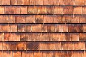 Westen red cedar shingles natural texture pattern