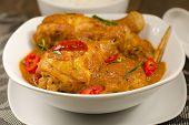 stock photo of curry chicken  - Chicken Kapitan  - JPG