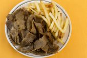 Donner Meat and Chips