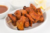 picture of kababs  - Chicken Tikka Kebab  - JPG