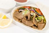 pic of raita  - Donner Kebab Wrap  - JPG