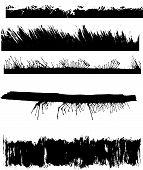 A Set Of Grunge Edges