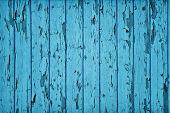 Cor azul de Teal de madeira estilo vintage