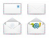 Newsletter Icons Vector Set