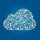 Cloud Computing Service Concept