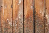 Hoja acanalada hierro oxidado