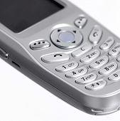 Metallic Mobile Phone Detail