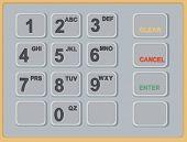 Cash Machine Atm Keypad
