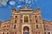 Madrid, Spain - September 30: Plaza De Toros De Las Ventas. It Was Inaugurated On June 17, 1931. It