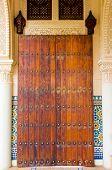 Moroccan Door Architecture