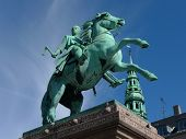 statue with horse in copenhagen