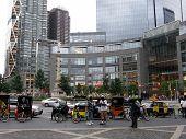 Columbus Circle In New York