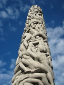 Monolith of People - Vigeland Sculpture Arrangement