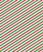 Diagonal Red And Green Lines On White