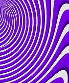 Curving And Warping Color Purple