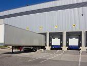 Loading dock cargo doors