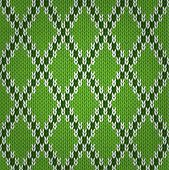 Seamless knitted pattern