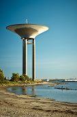 Water tower in Lanskorna